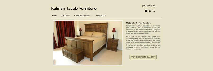rustic furniture, edmonton, calgary